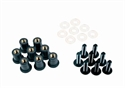Picture of SCREEN SCREW KIT - BLACK - GEAR GREMLIN