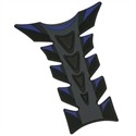 Picture of RUBBER TANK PAD - BLACK AND BLUE - GEAR GREMLIN