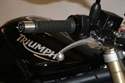 Picture of HANDLEBAR END WEIGHTS - R & G RACING - TRIUMPH DAYTONA/TT600 /SPEED FOUR