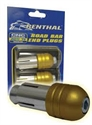 Picture of RENTHAL HANDLEBAR END WEIGHTS - GOLD