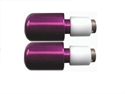 Picture of RENNTEC HANDLEBAR END WEIGHTS - PURPLE