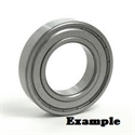 Picture of 6201 ZZ BEARING DOUBLE METAL SHIELDS
