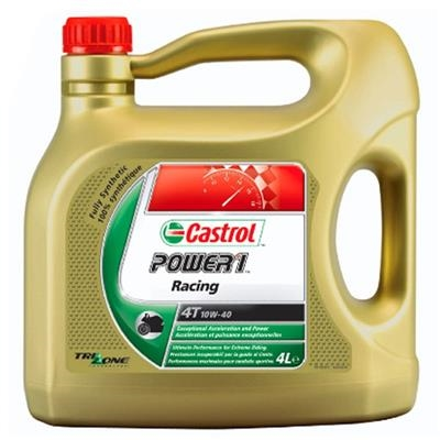 Picture of CASTROL POWER-1 RACING 4T -  10W/40 - 4 LITRE