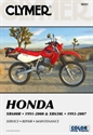 Picture of CLYMER MANUAL - XR600 / XR650L 1991 - 2000