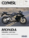 Picture of CLYMER MANUAL - CBR600RR 2003 - 2006