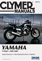 Picture of CLYMER MANUAL -  V-MAX 1200  1988  - 2003