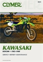 Picture of CLYMER MANUAL -  KDX200 1983 - 1988