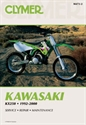 Picture of CLYMER MANUAL -  KX250 1992 - 2000