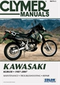 Picture of CLYMER MANUAL -  KLR650 1987 - 2007