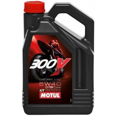 Picture of MOTUL 300V 5W40 4T 4 LITRES - FACTORY LINE
