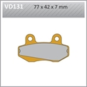 Picture of VD131 VESRAH DISC BRAKE PADS