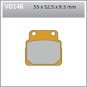 Picture of VD146 VESRAH DISC BRAKE PADS