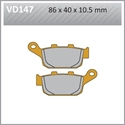 Picture of VD147 VESRAH DISC BRAKE PADS