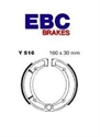 Picture of Y516 EBC DRUM BRAKE SHOES
