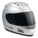 Picture of DUCHINNI D701 - 54 (XS)  SILVER FULL FACE HELMET