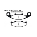 Picture of FA129HH - EBC DISC BRAKE PADS SINTERED HH