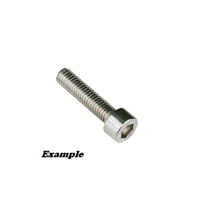 Picture of M5 - 40MM ALLEN SCREW STAINLESS STEEL