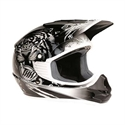 Picture of THH TX11 #8 BEAST YOUTH HELMET MEDIUM  BLACK/SILVER