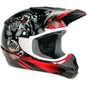 Picture of THH TX11 #8 BEAST YOUTH HELMET MEDIUM BLACK/RED
