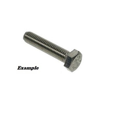 Picture of M8 - 25MM HEX BOLT STAINLESS STEEL