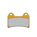 Picture of FDB2042ST FERODO SINTERED DISC BRAKE PADS