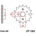 Picture of 1263-14 FRONT SPROCKET