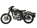 Picture of ROYAL ENFIELD BATTLE GREEN (USED) ONLY 44 MILES