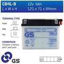 Picture of CB4LB GS BATTERY