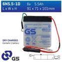 Picture of 6N551D GS BATTERY
