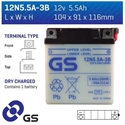 Picture of 12N55A3B GS BATTERY