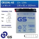 Picture of CB12ALA2 GS BATTERY