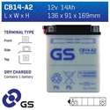 Picture of CB14A2 GS BATTERY