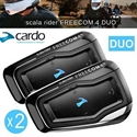 Picture of CARDO SCALA RIDER FREECOM 4 DUO MOTORCYCLE  BLUETOOTH COMMUNICATION SYSTEM