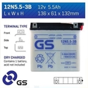 Picture of 12N553B GS BATTERY