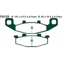 Picture of FA129R - EBC DISC BRAKE PADS SINTERED
